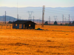 Power line house