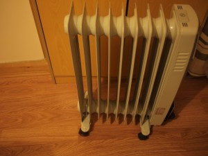 Electric heaters can produce high EMF. Don't get too close!