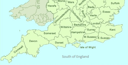 South of England
